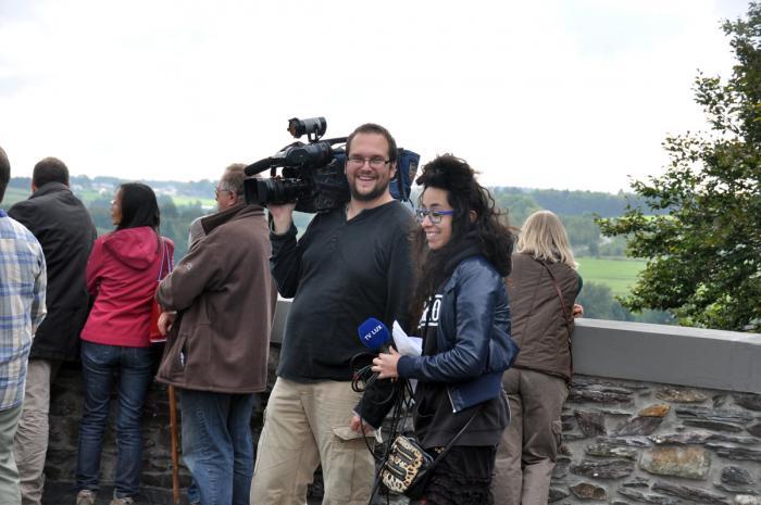 TV Lux était bien représentée, pour un reportage de qualité...